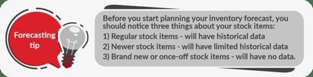 Forecasting tip 3
