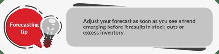 Forecasting tip 6